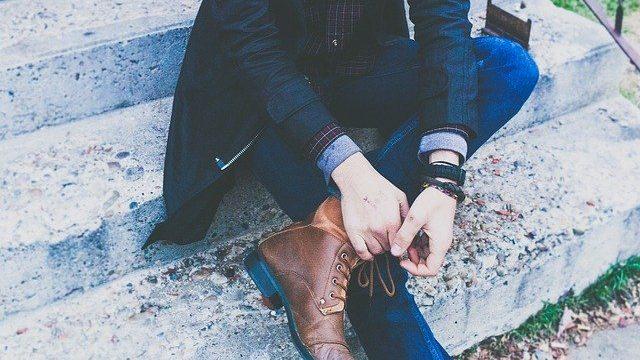 男性の脚やせ